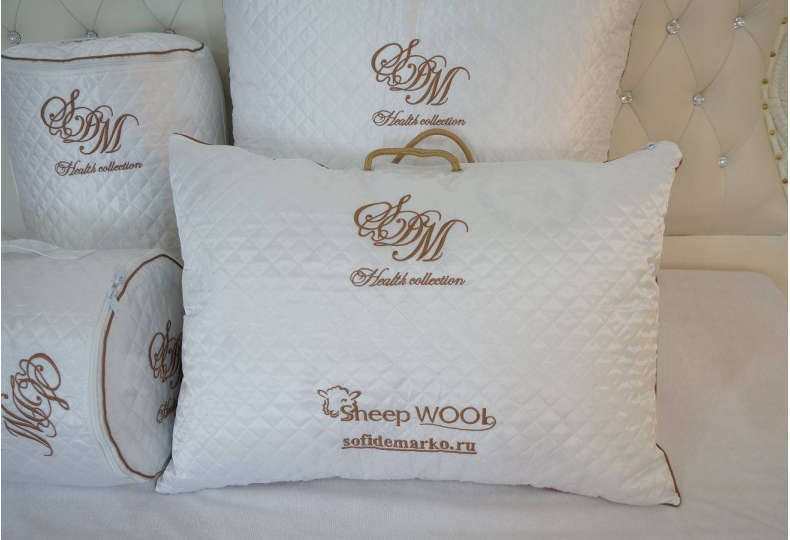 Wool Подушка 70х70