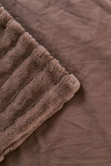 Анабель (шоколад) Покрывало 160х220