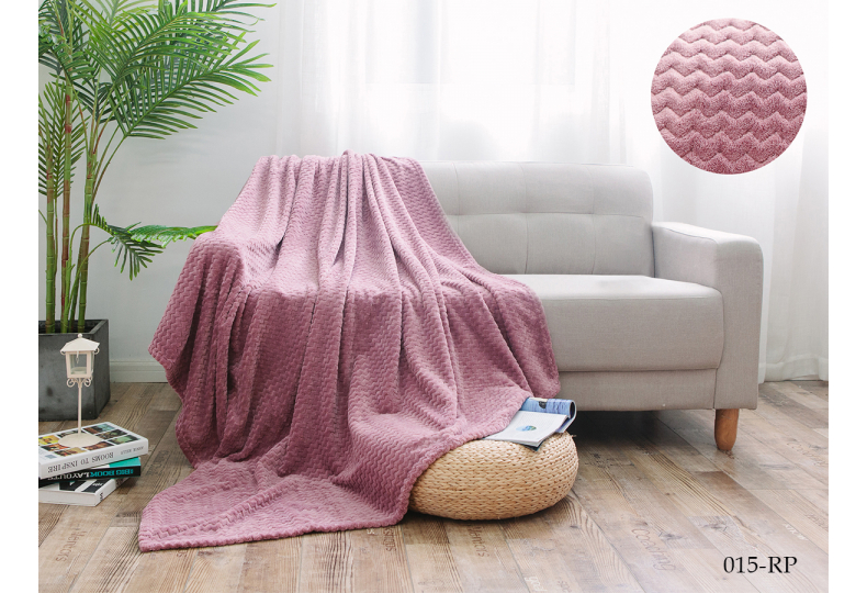 Плед Cleo ROYAL PLUSH велсофт двуспальный 180*200 180/015-RP