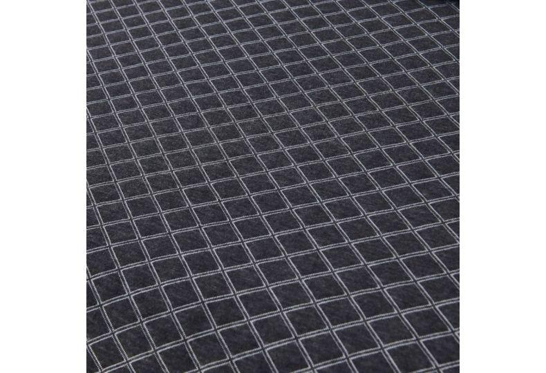 Гранд (темно серый) 160х220 Покрывало Трикотаж