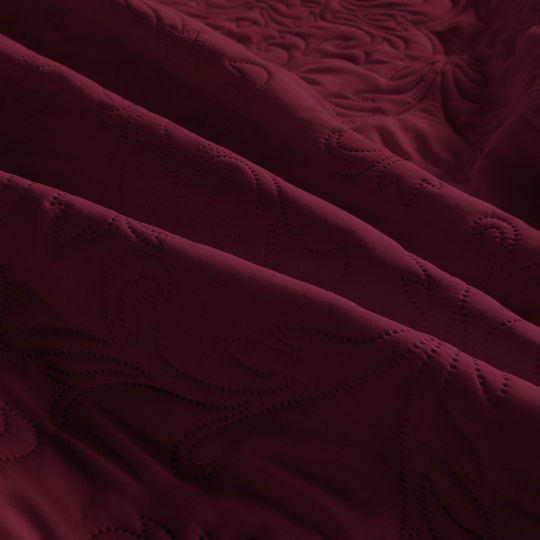 Амара (бордо) Покрывало 240х260
