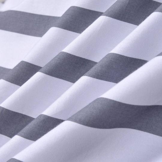 Антураж (серый) беж) КПБ сатин Евро 4н