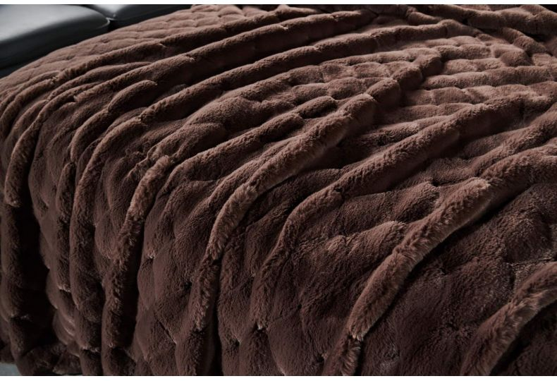 Бернард (шоколад) Покрывало 160х220