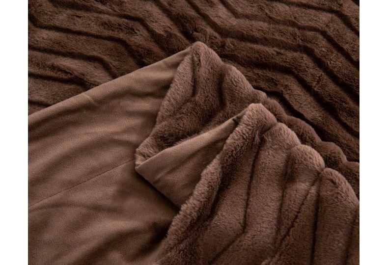Климентина (шоколад) Покрывало 160х220