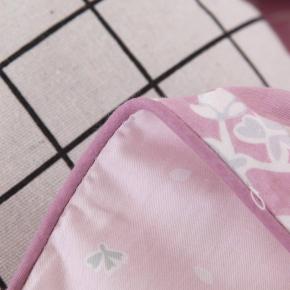 Амели (розовая) КПБ сатин Евро 4н