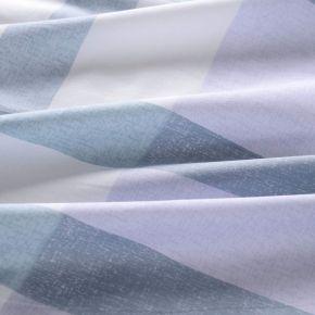 Абердин (изумруд)-Абердин (серый) КПБ сатин Евро 4н