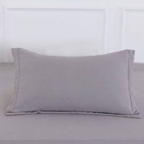 Ирианна (темно серая) Наволочки Жатка 50х70 (2шт)