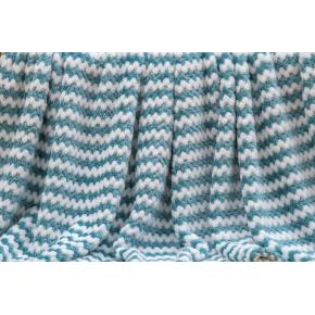 Гринда (морская волна) Покрывало 160х220