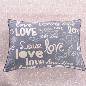 Love (розовая) КПБ сатин 7Е