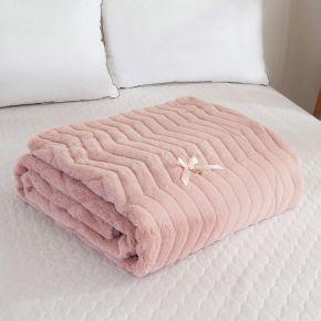 Климентина (розовая) Покрывало 160х220