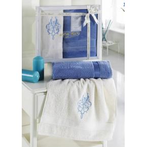 LOGAN (голубой) 50x90-70х140 Комп. полотенец